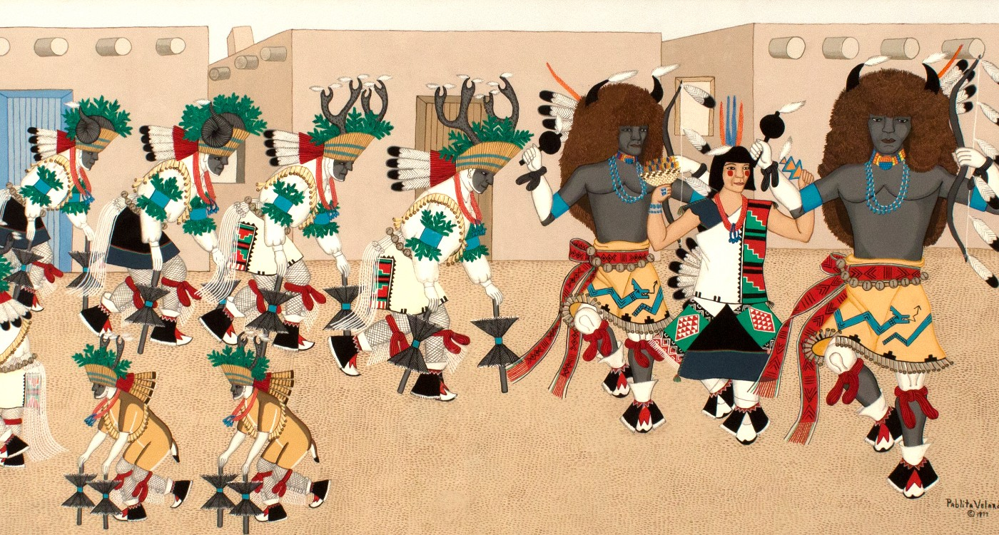 Pablita Velarde, Helen Hardin, Margarete Bagshaw, and Helen K. Tindel: A Painting Dynasty from the Land of Enchantment
