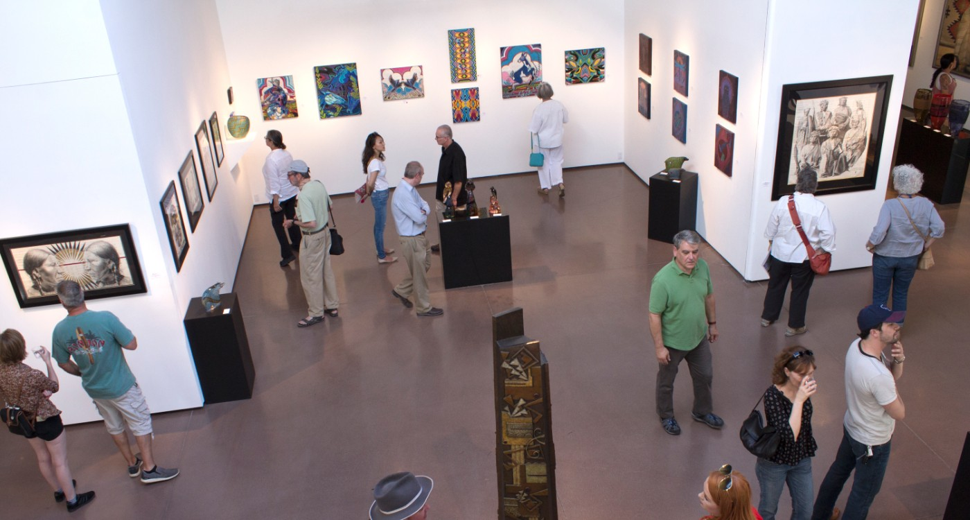 Group Exhibition During Blue Rain Gallery's Annual Celebration of Native American Art During Native Art Week