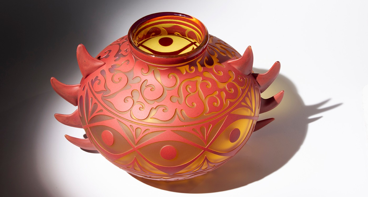 Preston Singletary and Harlan Reano Collaboration - Synergy: A Collaboration in Glass