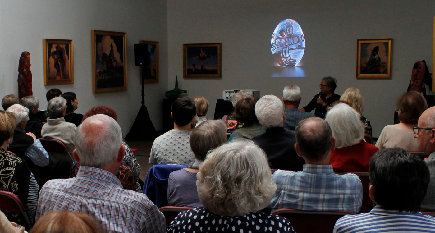 Artist Lecture Series During Blue Rain Gallery's Annual Celebration of Native American Art