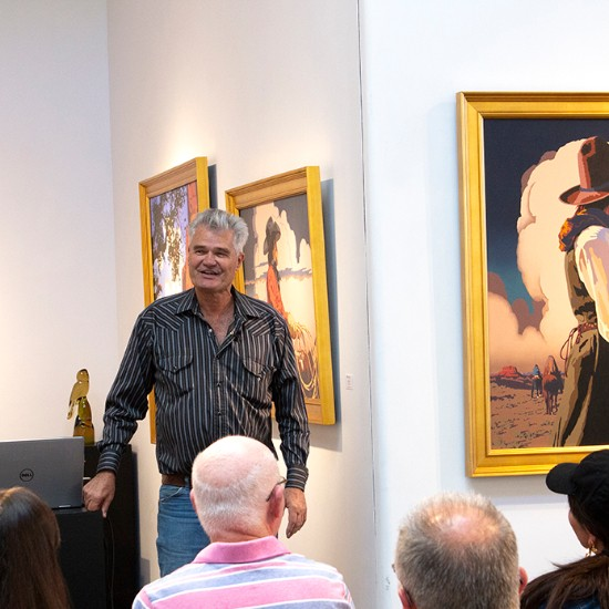 "Billy Schenck Artist Talk, May 2019 — ""How I Became a Western Pop Artist and the Emergence of Contemporary Western Art as a Genre"""