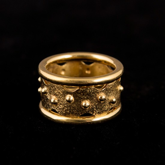 Lina Amariglio Weiss - Crown Ring