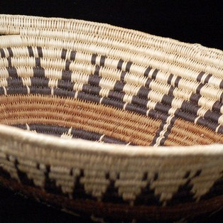 Unspecified Artists - Navajo Coiled Basketry Bowl