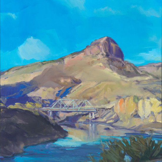 Kathryn Stedham - Bridge over Low Ripples