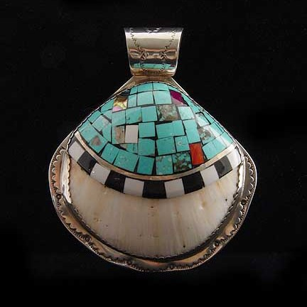 Angie  Crespin - Shell Pendant