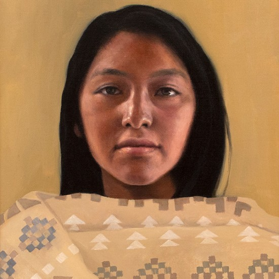 Roseta Santiago - Girl from Tesuque Pueblo