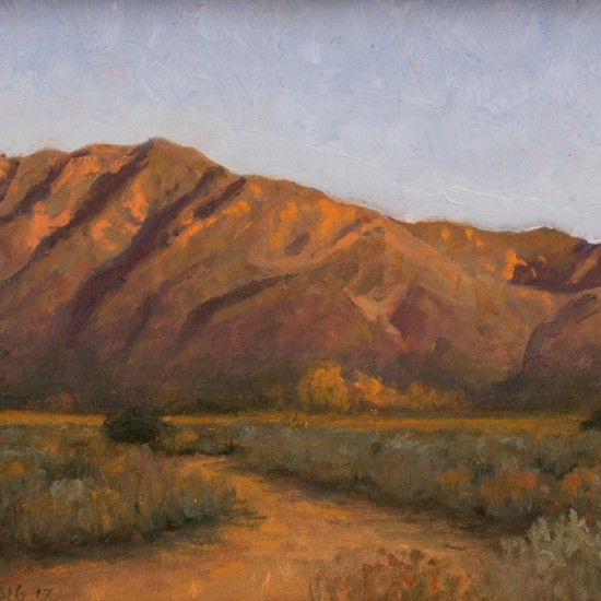 Stephen Magsig - Evening Colors, Arroyo Seco