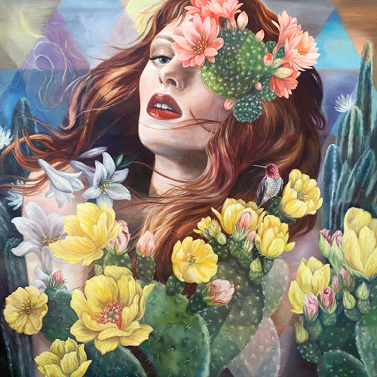 Andrea  Peterson - Sonoran Bloom