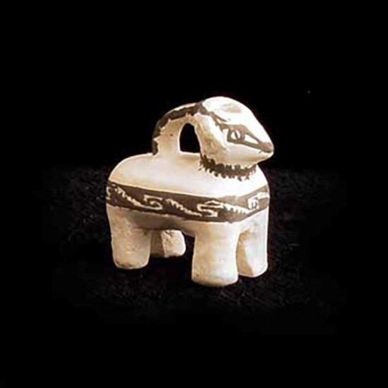 Thomas Natseway - Miniature Anasazi Pottery Dog