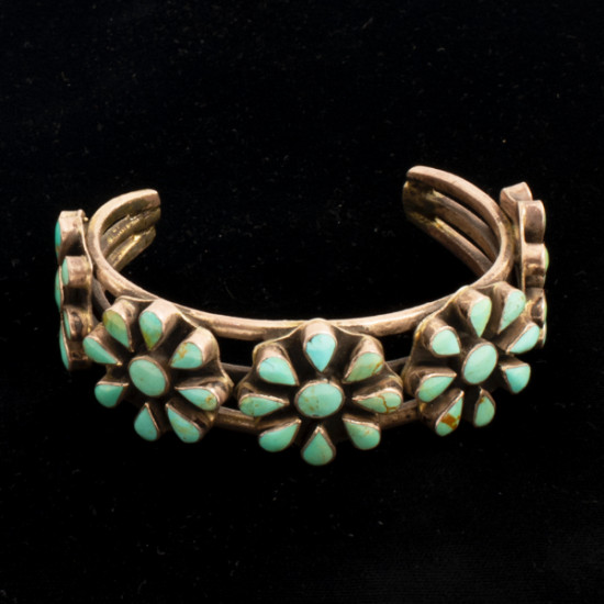 Terry Williams - Silver and Turquoise Bracelet
