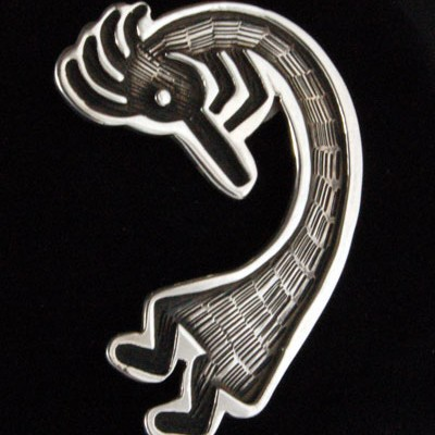 Unspecified Artists - Kokopelli Pin