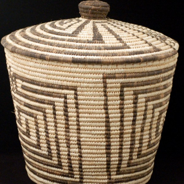 Unknown - Papago Lidded Basket