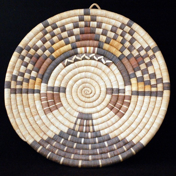 Unknown - Hopi Pictorial Coiled Basket