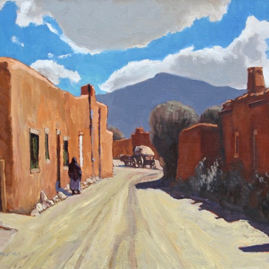 Dennis Ziemienski - Up the Road, Santa Fe