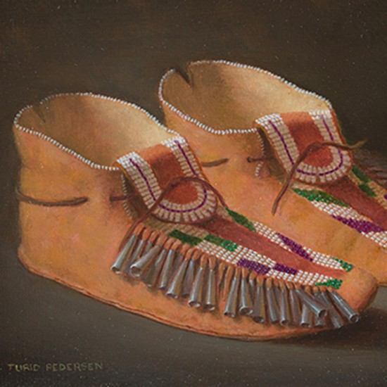 Turid Pedersen - Plains Indian Moccasins