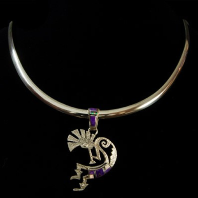 Unspecified Artists - Kokopelli Pendant