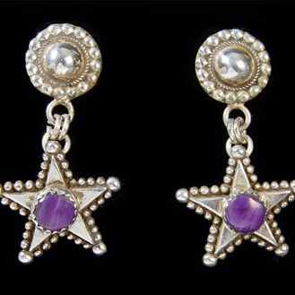 Unspecified Artists - Star Earrings