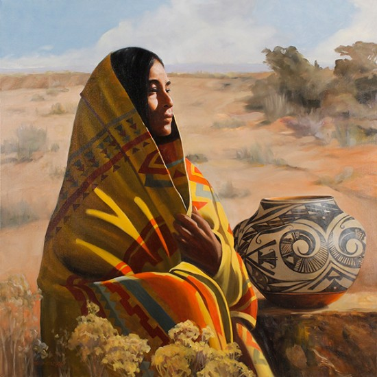 Roseta Santiago - Morning on the High Desert