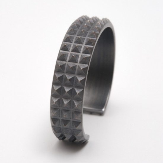Maria Samora - Triple Pyramid Men's Cuff