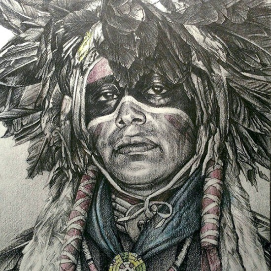 Hyrum Joe - He Dances in Honor of the Dog Soldier (Cheyenne)