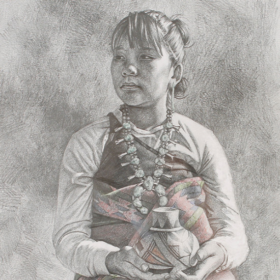 Hyrum Joe - Carrying on Her Acoma Tradition