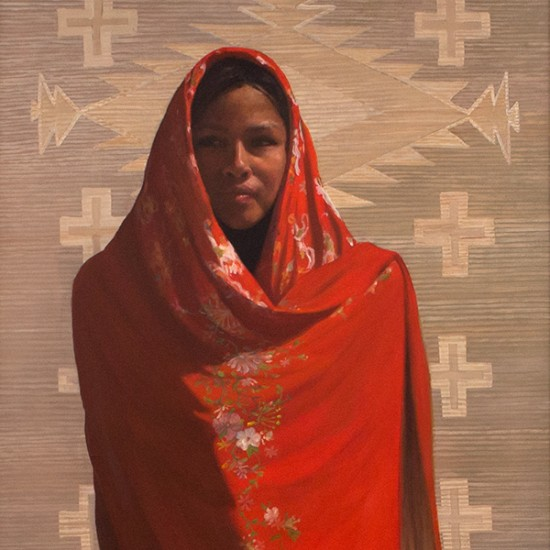 Roseta Santiago - The Red Shawl