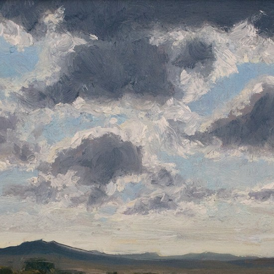 Stephen Magsig - Backlit Clouds, Arroyo Seco