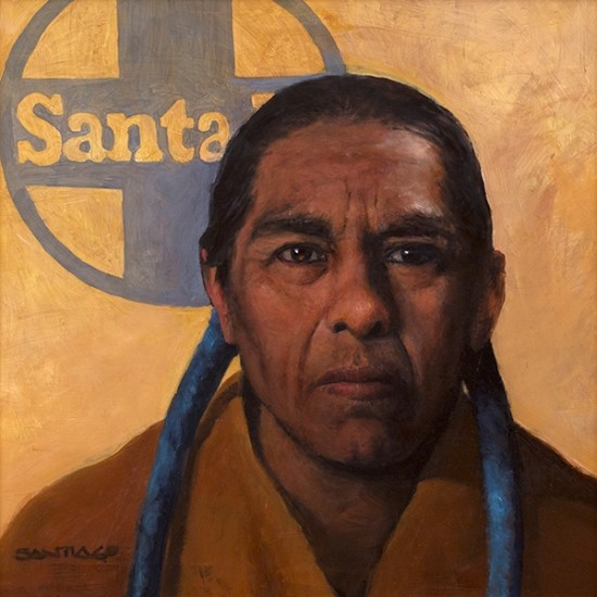 Roseta Santiago - Man from Taos