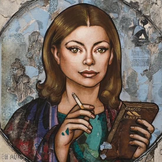 Erin Currier - Joan Didion (After Pompeii's Sappho)