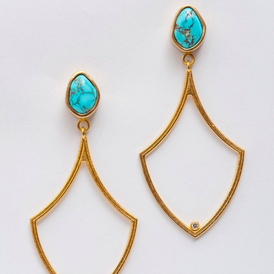 Maria Samora - Gryphon Earrings