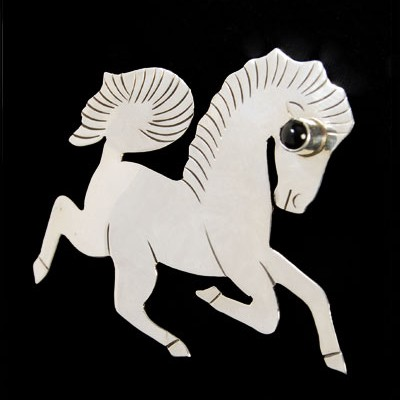 Unspecified Artists - Horse Pin