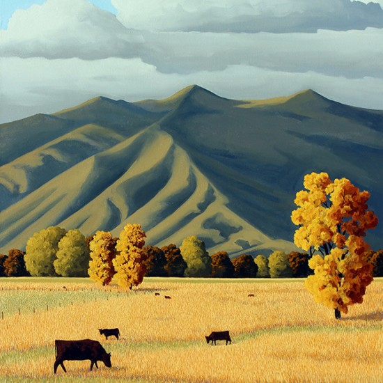Doug West - Taos Pastoral
