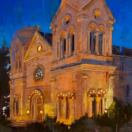 Matthew Sievers - St. Francis at Night