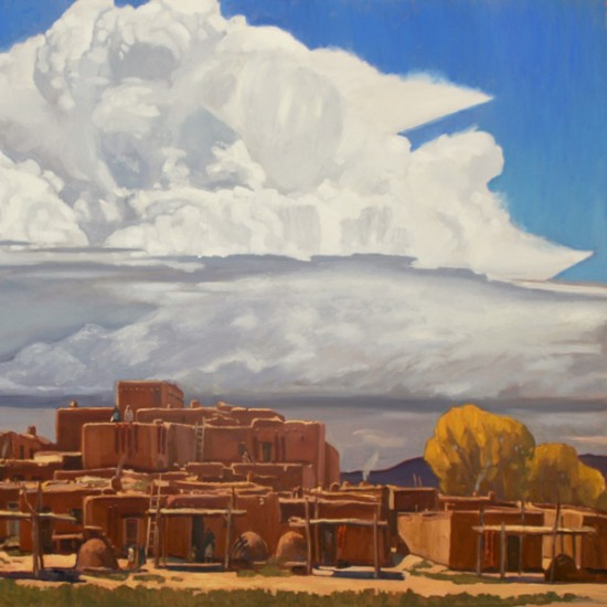 Dennis Ziemienski - Late Summer Over Taos
