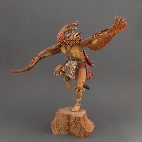 Cecil Calnimptewa - Red Tailed Hawk Kachina
