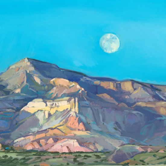 Kathryn Stedham - Ghost Ranch, Full Moon