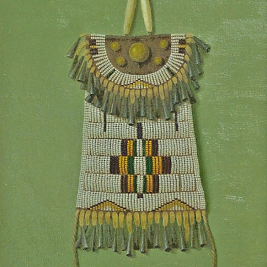 Turid Pedersen - Plains Indian Strike-a-Light Purse