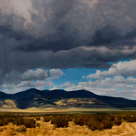 Stephen Magsig - Storm Clouds Near Acoma