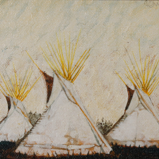 Kevin Red Star - Crow Teepees