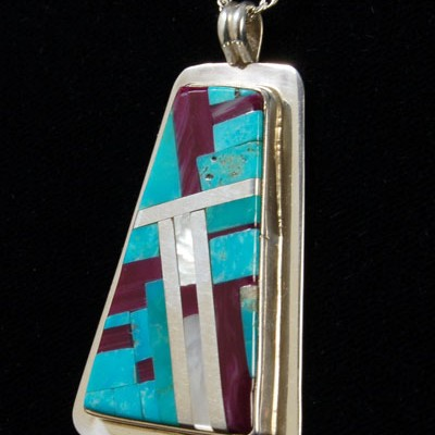 Unspecified Artists - Inlay Pendant