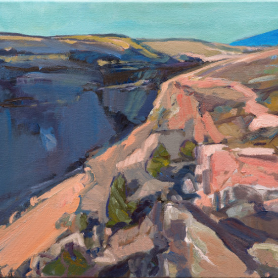 Kathryn Stedham - Turquoise Day, Taos Gorge
