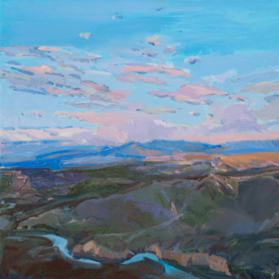 Kathryn Stedham - Small Cloud Day on Rio Grande