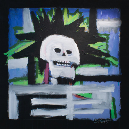 Larry D. Blissett - Dead Basquiat
