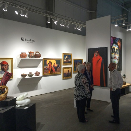 Blue Rain Gallery Exhibiting at Texas Contemporary in Houston