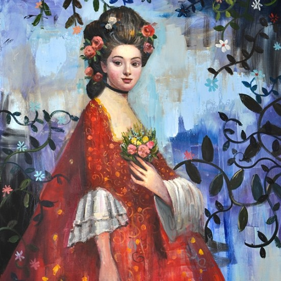 Rimi Yang - Portrait in Red