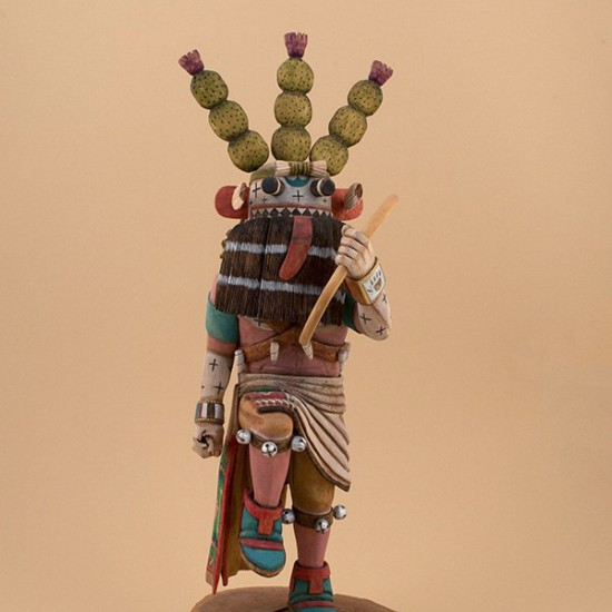 Ronald Honyumptewa - Cactus Kachina