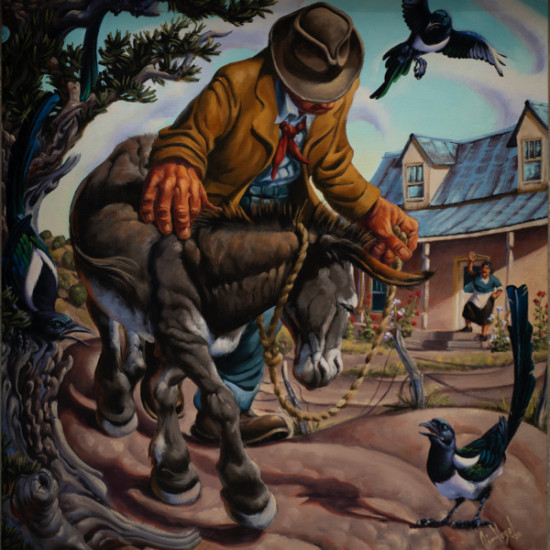 Jim Vogel - The Magpie and the Burro