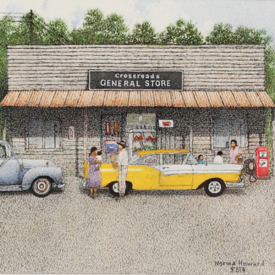 Norma Howard - Miniature Storefront