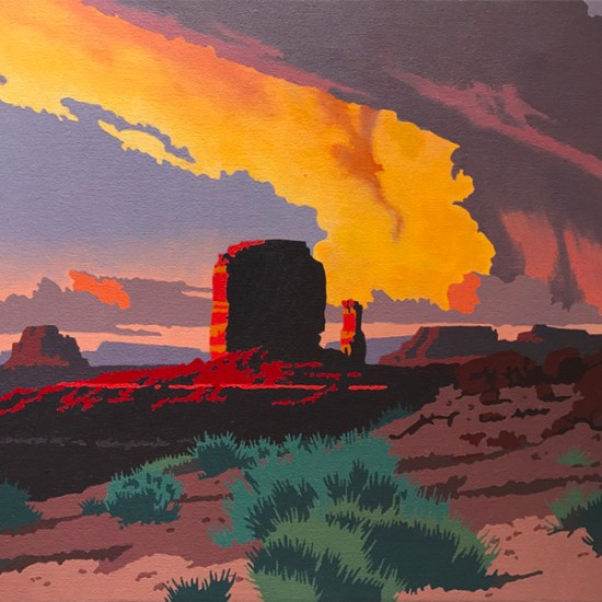 Billy Schenck - Canyon and Mesas