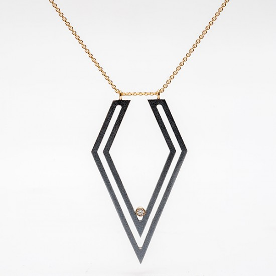 Maria Samora - Strata Diamond Necklace